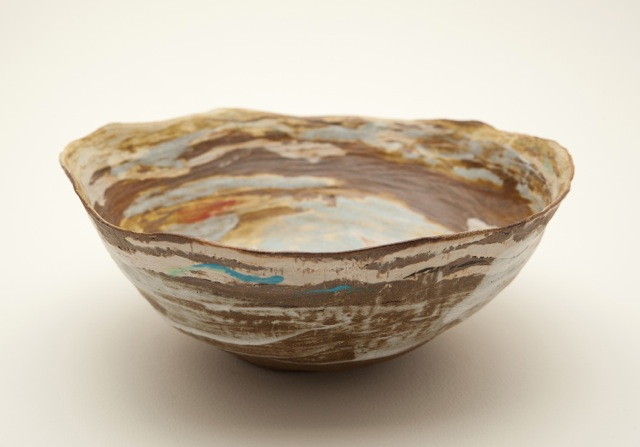 stoneware bowl by Kerry Holland
